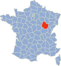Carte Côte-d'Or