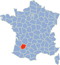 Carte Lot-et-Garonne