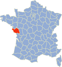 cartes Vendée